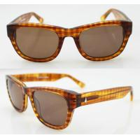 Quality Custom Made Round Acetate Frame Sunglasses Protect Eyes From UV wholesale