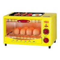 China 9L mini kitchen electric oven toaster oven baking grill warm with BBQ on sale