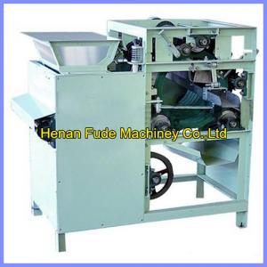 China wet type peanut peeling machine, peanut skin peeler on sale