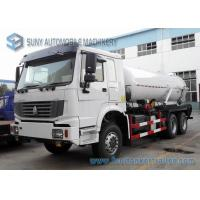 Quality 18000L Vacuum Tanker street cleaning vehicles 6x4 HOWO RHD Sewage Suction Truck wholesale