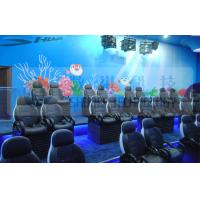 Quality Luxury Hydraulic System Motion Theater Chair Of Royal Colors With Leg Tickle Special Effect wholesale
