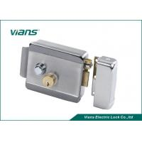 Quality Fail Safe Steel Electric Control Security Rim Lock With Key And Button wholesale