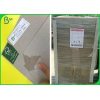 China High Density FSC Recycled Laminated Grey Board With 1mm 1.5mm 2mm Thick on sale