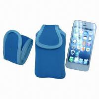 China Arm Band Pouch for iPhone, Made of Neoprene on sale