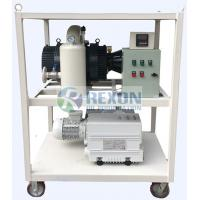 Quality RNVS -600 Vacuum Pump Set For Double Stage Transformer Evacuation System wholesale