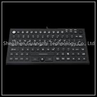 China 2 In 1 Black Washable Keyboard And Mouse High Temperature Resistant on sale