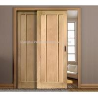 Quality Interior Oak Wooden Sliding Doors Painted Surface Maximum Height 2350mm Large Size wholesale