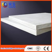 Quality Refractory Ceramic fiber board for industrial kiln / furnace , White Color wholesale