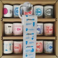 Quality Loo roll printed  3 layer 200 sheets 100% wood virgin pulp advertisement printed toilet paper wholesale