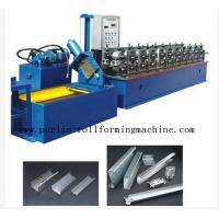 Quality 20 Forming Stations In Automatic C - Z Changeable Purlin Roll Former 10Mpa - 12Mpa wholesale