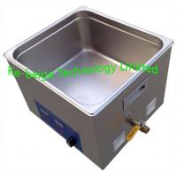 Quality Digital 15L 360w Heated Benchtop Ultrasonic Cleaner Stainless Steel For Medical wholesale