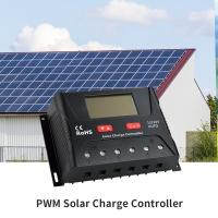 China 40A Digital Solar Charge Controller 12 Volt Solar Panel Controller Multiple Protect on sale