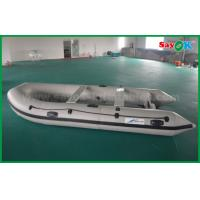 China 2m Pvc Fabric Rib Zodiac Mini Inflatable Fishing Boat with Electric Motor on sale