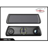 Quality Full Hd Wifi Dual Car Camera Android Dvr Video Recorder / Gps Navigation Rearview Mirror wholesale