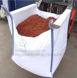 China 100% pp woven used bag 1 ton jumbo bag for sand,100% virgin resin polypropylene big bag / FIBC pp woven 1 ton jumbo bulk on sale