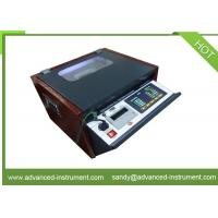 China IEC 156 Dielectric Breakdown Voltage Portable Oil Testing Set for sale