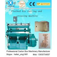 Quality Die-Cutting And Creasing Machine / Slotting Machinery Automatic Carton Machine wholesale