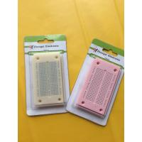 Quality Round Hole Bread board Small Test Board Colored For 29AWG - 20AWG Wires wholesale