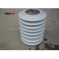 Quality Porcelain Post Insulators With Steel Inserts , Bus Post Insulator Grey Color wholesale