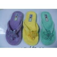 China soft terry slippers on sale