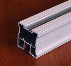 China T6 Square Door Aluminium Frame Profile For Sliding Decorative Material on sale