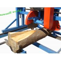 Quality Electric Sawmill ! Portable Wood Double Saw Blade Angle Circular Sawmill wholesale