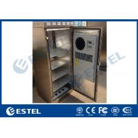 China 304 Stainless Steel Outdoor Telecom Cabinet IP55 Waterproof Corrosion Resistance on sale
