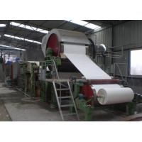 Quality Waste Recycling Manufacturing Production Line Mill Tissue Toilet Roll Making Machine Price wholesale