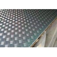 Anti Skidding Aluminium Checker Plate Sheet With Bright Finish Surface Treatment