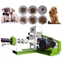 Quality Pet Dog Fish Feed Production Line Easy Operation 1t/H - 3t/H  12 Months Warranty wholesale