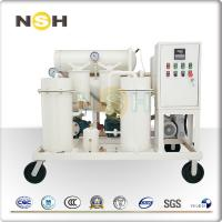 China Steam Turbine Oil Purifier Emulsified Lube Oil Purifier Low Load Design 12000 L / Hour on sale