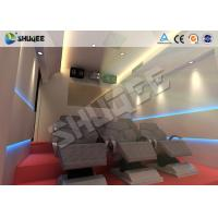 Quality 6 Effects 5D Movie Theater Pneumaitc Hydraulic  Electric Motion System Chair wholesale