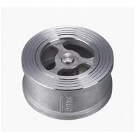 Quality API Stainless Steel Wafer Check Valves , Water Non Return Lift Check Valve wholesale