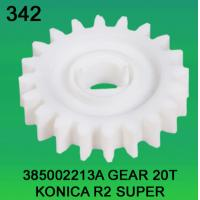 Quality 385002213A / 3850 02213A GEAR TEETH-20 FOR KONICA R2 SUPER minilab wholesale