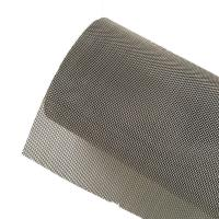 China Anti Static Plain Woven Stainless Steel Wire Mesh For Electroplating Industry on sale