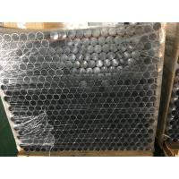 Punching and Drilling Holes Aluminum Round Tube with 30mm Diameter 1.5mm for sale