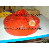 China silicone fiberglass heat resistant sleeve on sale