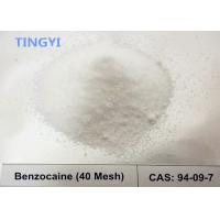 Quality High Purity Local Anesthetic Pain Killer Powder  Drugs Benzocaine CAS 94-09-7 for Relieving Pain​ wholesale