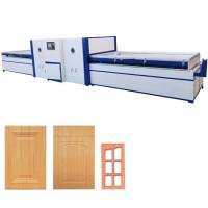 China Veneer vacuum membrane press machine on sale
