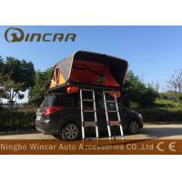 Quality Aluminum Frame Automatic Rooftop Tent With 2 Ladders , Vehicle Roof Rack Mounted Tent wholesale