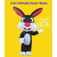 Buy cheap Oxford Custom Style Indoor/ Yard 2.5m Inflatable Easter Bunny product