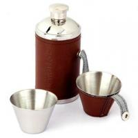 Quality Stainless Steel Hip Flask with the Capacity of 6oz wholesale