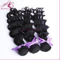 China 100% virgin human hair different country same price 3 bunldes wavy hair weft on sale