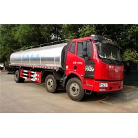 Quality 6X2 FAW 225HP Stainless Steel Milk Transport Truck 20CBM Insulation Tank wholesale