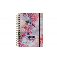 China Hard Cover Custom Printed Metal Double Spiral Notebooks printing service on sale
