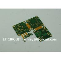Quality ENIG Plating Rigid Flexible Printed Circuit Board Green Solder Mask 6 Layer wholesale