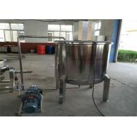 Quality Stainless Steel Agitator Mixing Tank , Heated Milling Chemical Mixing Tank wholesale