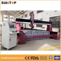 Quality Dynamic 5 axis cnc water jet cutting machine for granite and marble wholesale