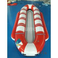 Quality Customized10 Seats Inflatable Banana Boat / Inflatable Water Ski For Lake wholesale