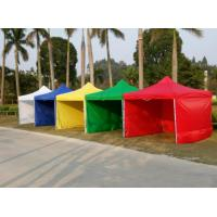Quality China factory suppliy colourful 3x3m gazebo canopy tent with sidewalls in low price. wholesale